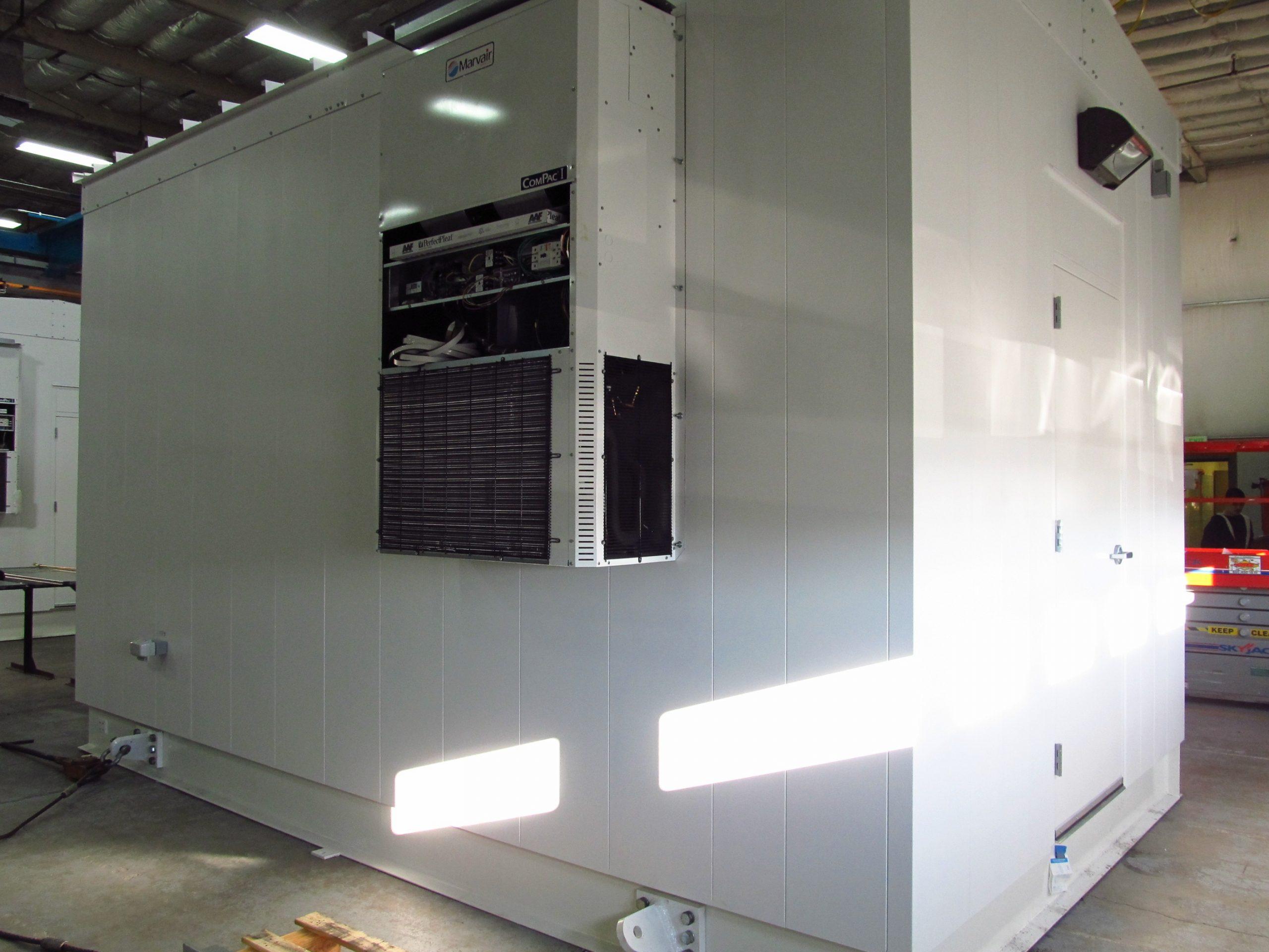 modular control building  pcr  ipa  pdc  pre